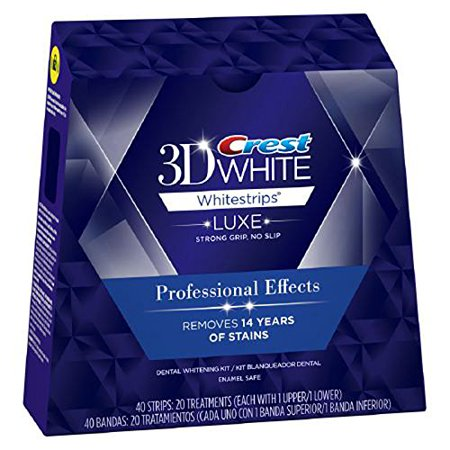 bandes blanchissantes crest effets professionnels - Crest Whitestrips